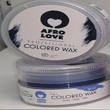 Gekleurde wax Blauw - RM Haircare