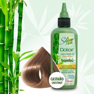 Semi-permanent hair color Chestnut